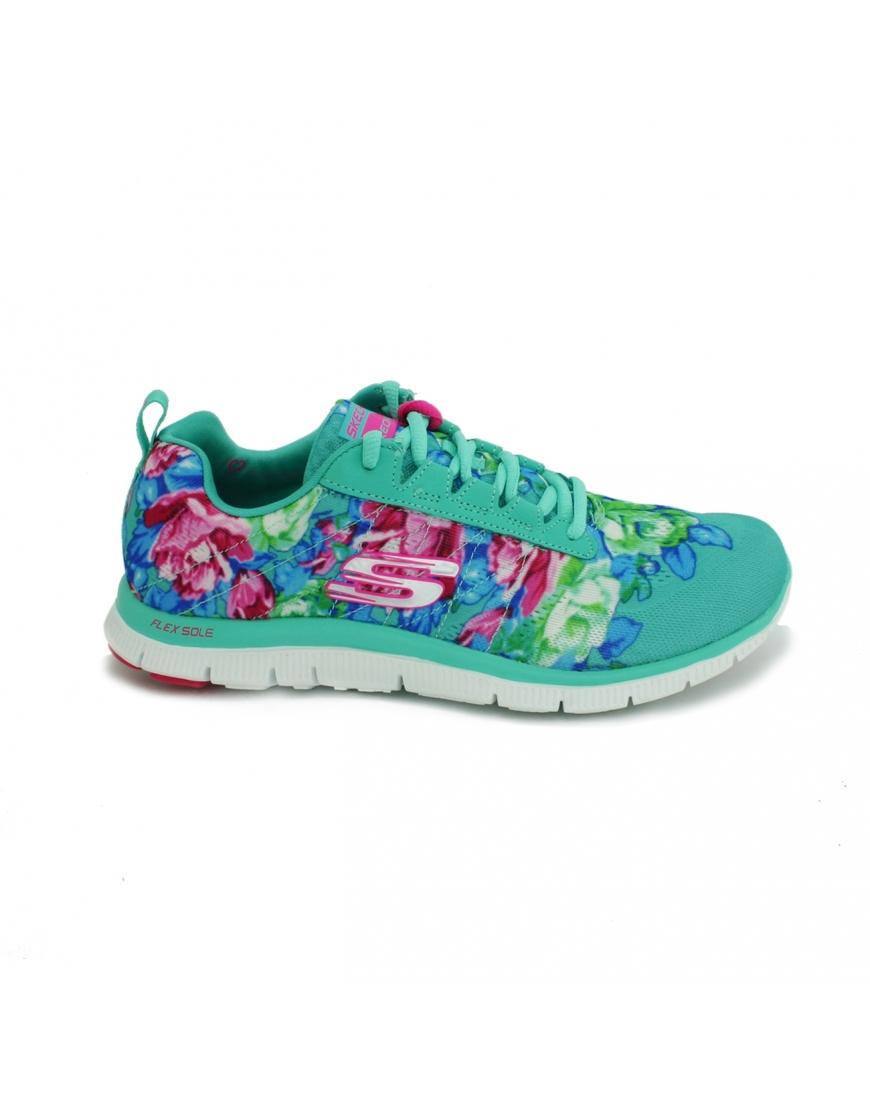 Skechers Con Flores