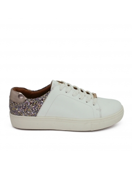 DEPORTIVO COMBI GLITTER BLANCO - ONLY