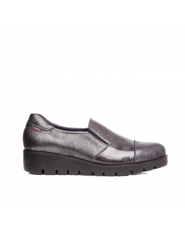ZAPATO MUJER CUÑA GRIS CALLAGHAN 89817