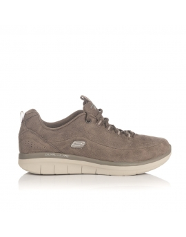 DEPORTIVO TAUPE - SKECHERS SYNERGY 2.0 - COMFY UP