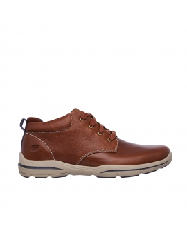BOTA MARRÓN - SKECHERS 64857 RELAXED FIT